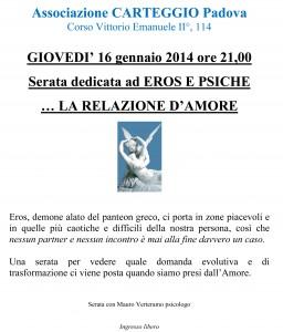 La relazione d'amore Padova 2013